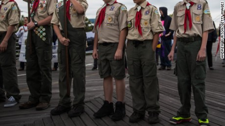 The Boy Scouts of America voted in 2013 to allow gay youths into the organization.