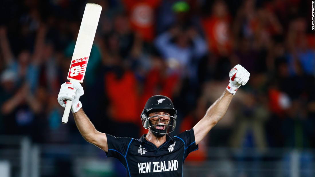 Grant Elliott was the hero as New Zealand booked a place in the cricket World Cup final for the first time ever, edging out South Africa in a thrilling encounter.
