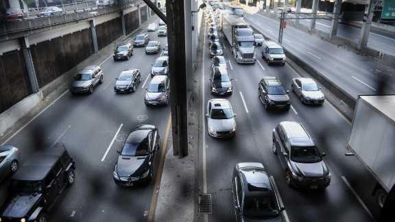 According to a 2013 Bloomberg survey, New York is No. 1 when it comes to commute time -- more than 39 minutes on average -- including trains and other alternate means of transportation. Moreover, almost one-third of workers commute at least 60 minutes to their jobs.