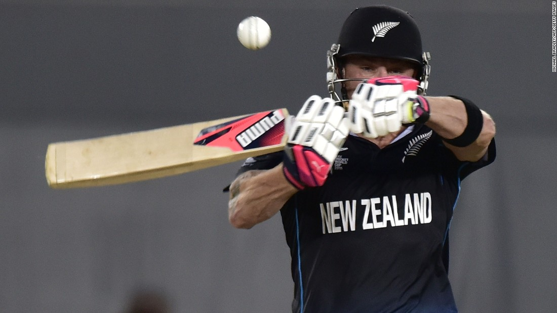 The hosts came hurtling out of the traps, captain Brendon McCullum smashing a half-century in just 22 balls, but it was struggling at 149-4 when Elliott came to the crease.