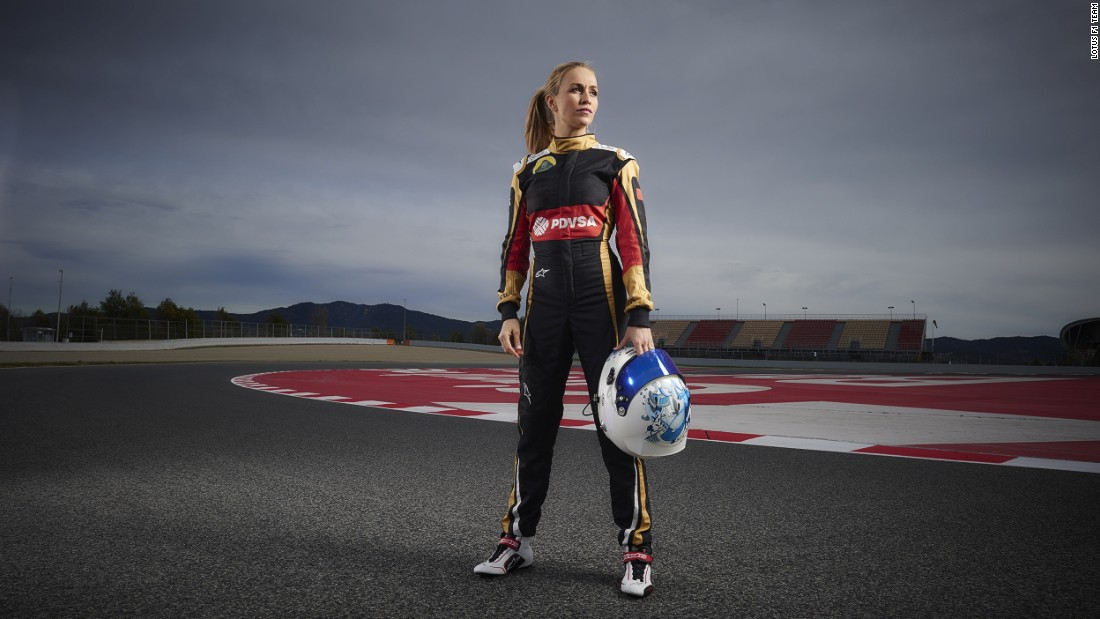 Carmen Jorda joined Lotus F1 as a development driver ahead of the 2015 season.