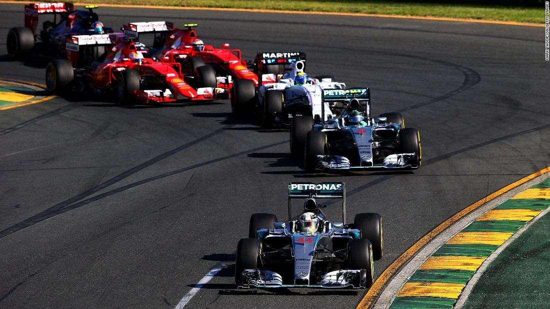 Mercedes teammates Lewis Hamilton and Nico Rosberg led the pack at the season-opening Australian Grand Prix, finishing more than 30 seconds in front of the next car, Sebastian Vettel's Ferrari.