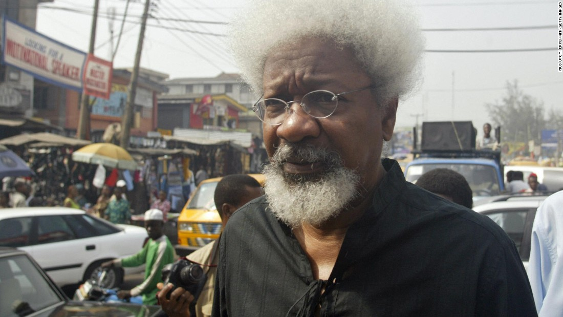 Wole Soyinka becomes the first black African to win the Nobel Prize for Literature. His work often tackles issues of oppression and he is a vocal critic of the military junta, currently overseen by General Ibrahim Babangida who had assumed power the year before. In the 1990s, Soyinka is forced to flee Nigeria after General Sani Abacha seizes power.