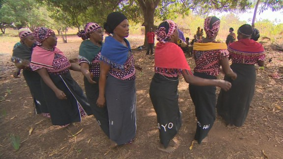"The Mijikenda in Kenya's east practice the ""mdundo"", the song and dance of their elders."
