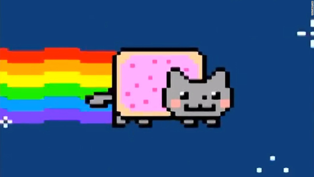 "<a href=""https://www.youtube.com/watch?v=QH2-TGUlwu4"" target=""_blank"">Nyan Cat</a>, a YouTube video updated in 2011, has been viewed nearly 200 million times."
