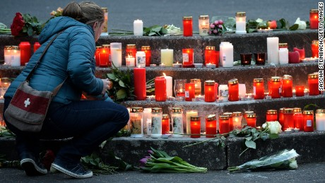 German town mourns 16 students killed in plane crash