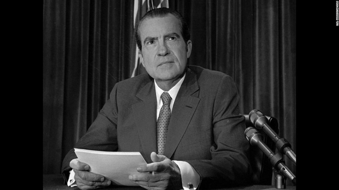 President Richard Nixon endorsed the ERA after it was adopted with bipartisan support in both houses of Congress in 1972.