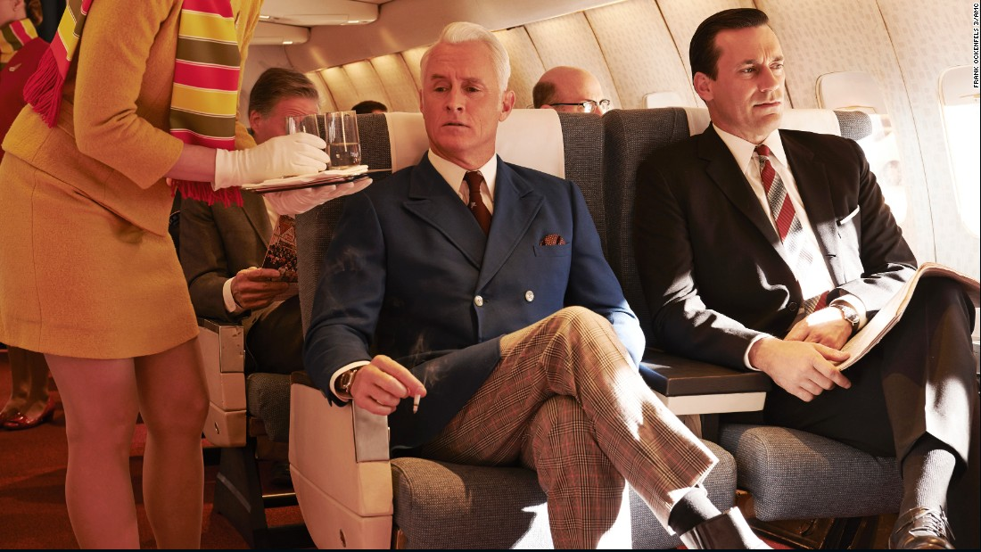 "<strong>""Mad Men"" season 7 part 2:</strong> The popular AMC series gives a peek into life in the 1960s at an ad agency. <strong>(Netflix) </strong>"