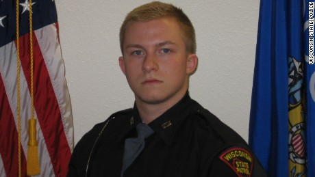 Wisconsin State Trooper Trevor Casper was killed Tuesday.