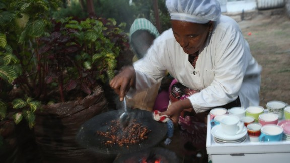 Within Ethiopia, coffee isn't seen as just an aromatic stimulant which helps to kick-start your day. The traditional Ethiopian coffee ceremony gathers family and friends and has special. spiritual meaning.