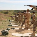 NPU-firing-range-training-Chamchamal-Iraq 2