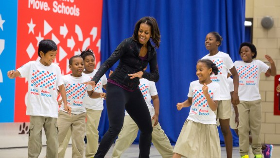 In 2010, first lady Michelle Obama started Let