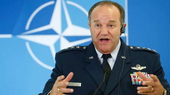 NATO Supreme Allied Commander Europe U.S. Gen. Philip M. Breedlove also spoke at Georgia Tech on May 2.