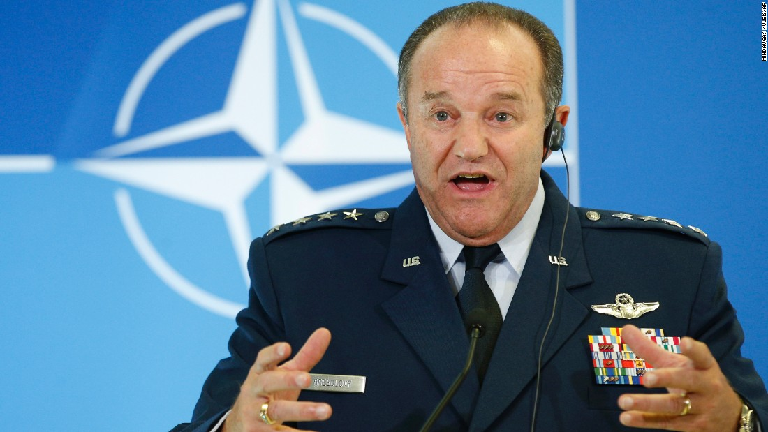 NATO Supreme Allied Commander Europe U.S. Gen. Philip M. Breedlove also spoke at Georgia Tech on May 2.