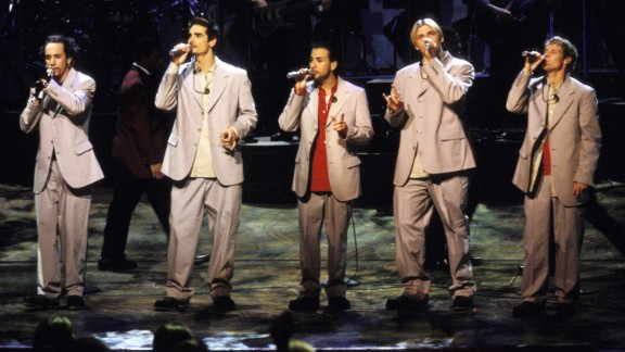 "In 1996, the Backstreet Boys released their debut album, ""Backstreet's Back."" ""Millennium,"" ""Black & Blue,"" ""Never Gone,"" ""Unbreakable"" and ""This Is Us"" followed. After parting with the group years ago, Kevin Richardson (second from left) rejoined A.J. McLean, Howie Dorough, Nick Carter and Brian Littrell. In March 2017, they kicked off a limited Vegas residency and they released a new single in May."