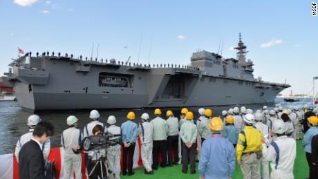 Japan launches largest warship since World War II - CNN