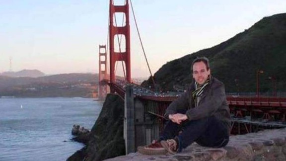 Andreas Lubitz is seen in an image taken from Facebook.