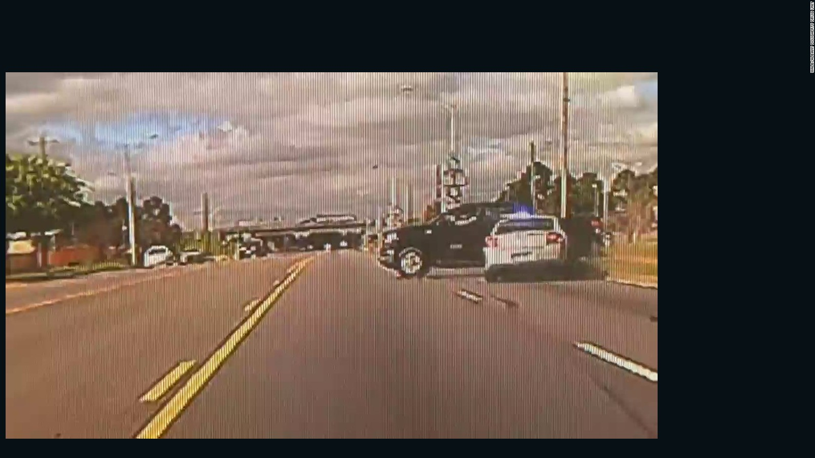 Dash cam video captures high-speed police chase - CNN Video
