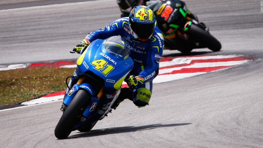 Aleix Espargaro got Suzuki off to a great start in their MotoGP comeback -- the Spaniard finished third fastest in the first practice at Losail.
