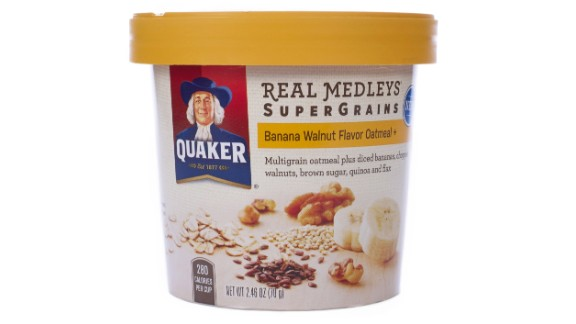 Don't want to start your day with cold cereal? Oatmeal is a great alternative that packs a high fiber content as well, depending on the kind you buy.
