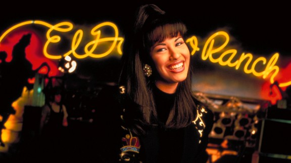Texas-born singer Selena Quintanilla Perez had found success singing in Spanish and was about to release her first English-language album when she was killed in 1995.