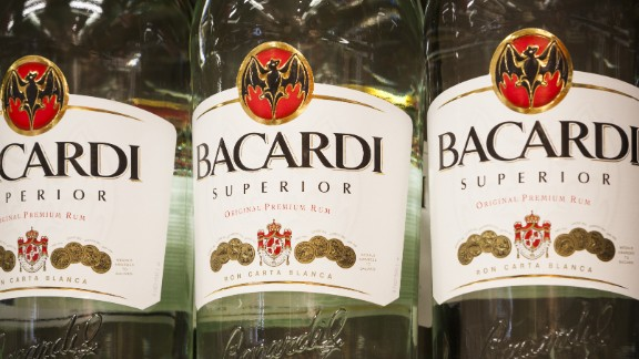4. Bacardi rum. US retail sales in 2014: $204 million.