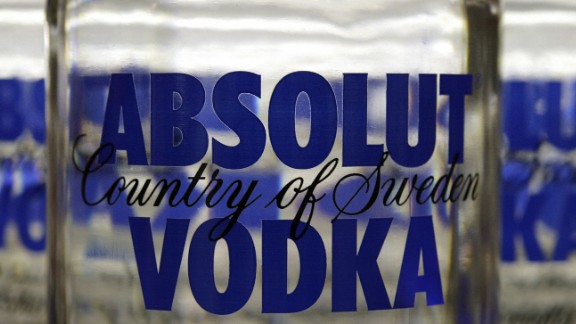 6. Absolut vodka. US retail sales in 2014: $130.7 million.