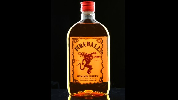 7. Fireball Cinnamon Whisky. US retail sales in 2014: $130.6 million.