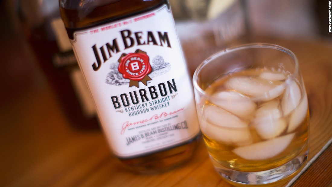 <strong>8. Jim Beam bourbon.</strong> US retail sales in 2014: $125 million.