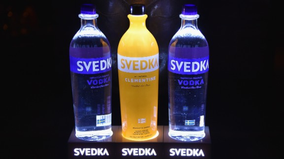 10. Svedka vodka. US retail sales in 2014: $101 million.