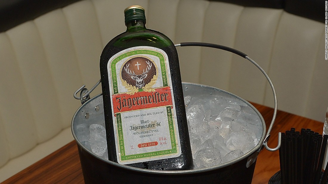 <strong>13. Jagermeister. </strong>US retail sales in 2014: $81 million.