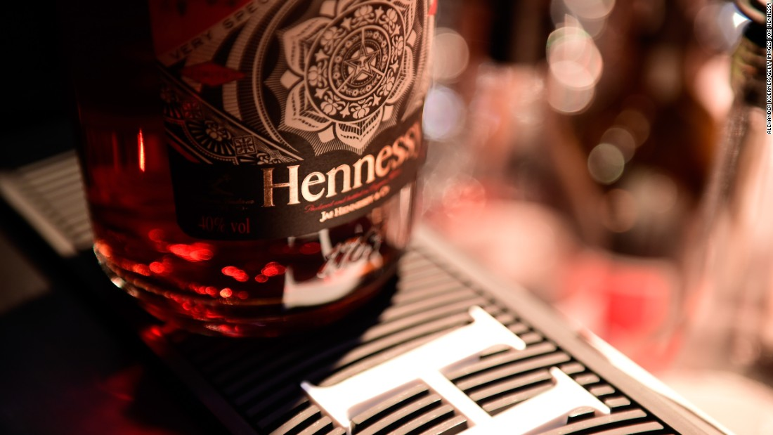 <strong>14. Hennessy cognac.</strong> US retail sales in 2014: $79 million.