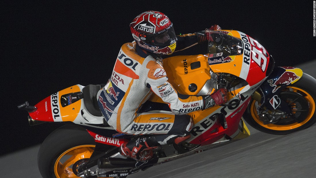 Can anyone stop Marc Marquez speeding to a third successive MotoGP title in 2015?