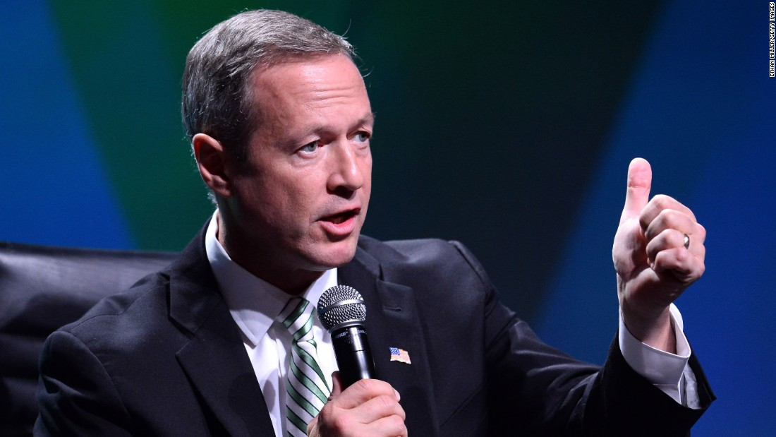 O'Malley speaks during the National Clean Energy Summit 6.0 on August 13, 2013 in Las Vegas.