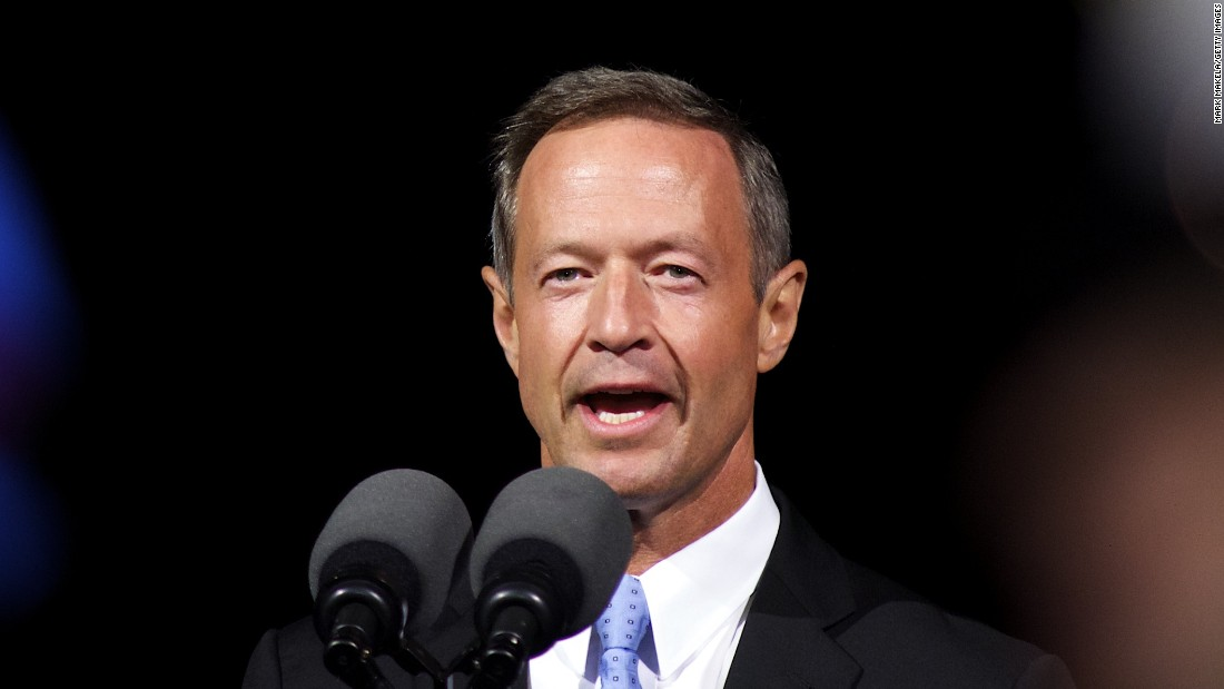 O'Malley speaks during a ceremony commemorating the bicentennial of the writing of The Star-Spangled Banner at Fort McHenry National Historic Park on September 13, 2014.