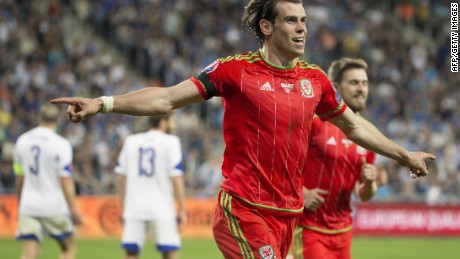 Gareth Bale scored twice for Wales as they beat Israel 3-0 in Haifa.