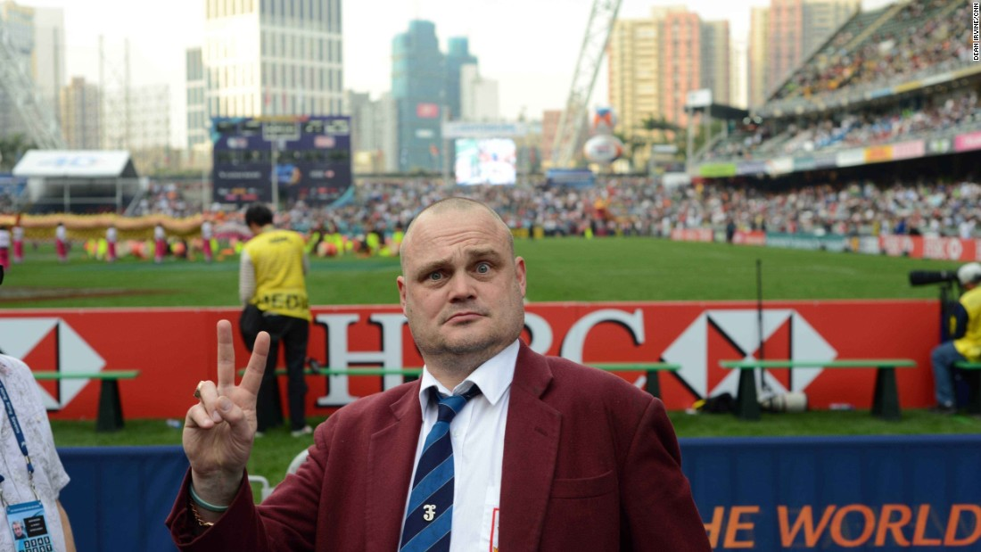 This year, British comedian Al Murray was invited to help host the event.