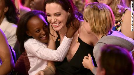 Actress Angelina Jolie adopted her daughter, Zahara Marley Jolie-Pitt, left, from Ethiopia in 2005, when the girl was six months old.