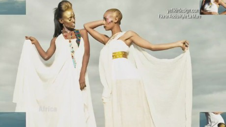 Exciting fashion fusion takes off in Ethiopa