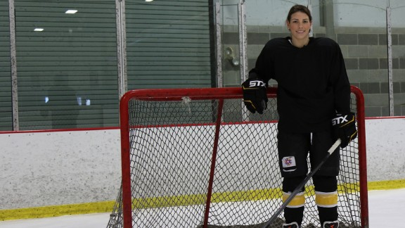 Hilary Knight is a member of the U.S. Olympic women