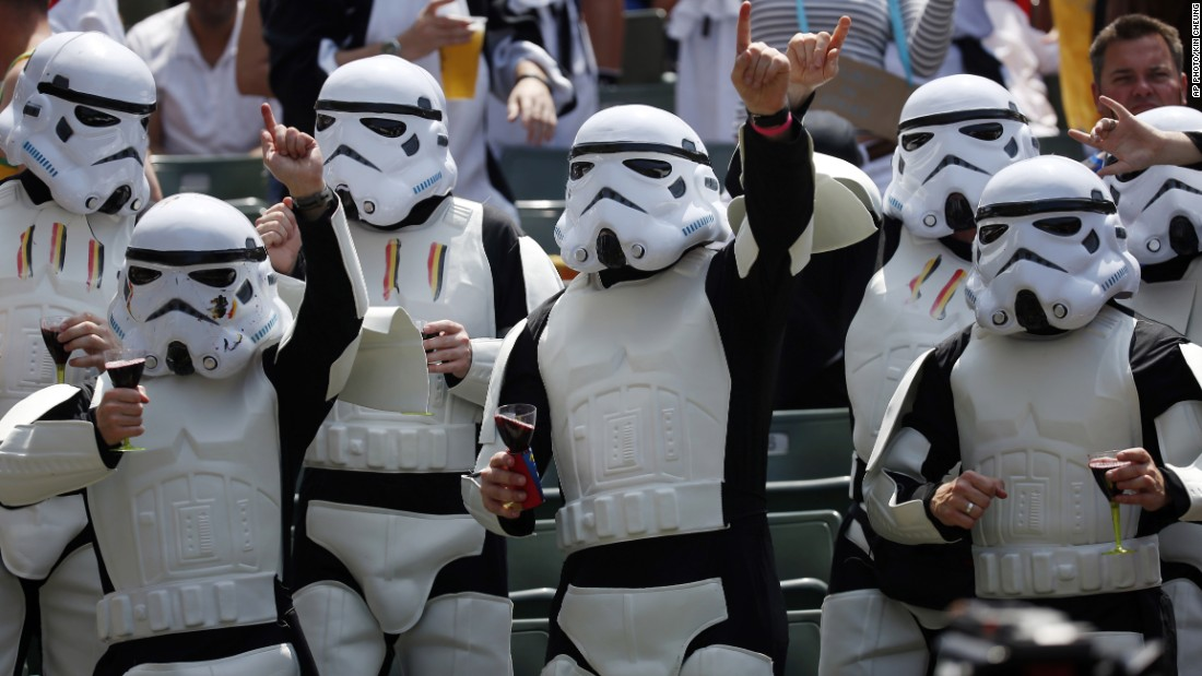 "From ""Star Wars"" Stormtroopers..."