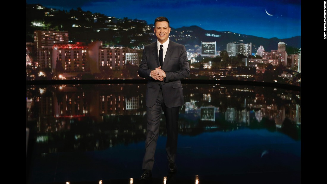 "Jimmy Kimmel oversees ABC's late-night show, ""Jimmy Kimmel Live,"" which has gained popularity for such bits as ""Mean Tweets"" and his alleged triangle with Matt Damon and Ben Affleck."
