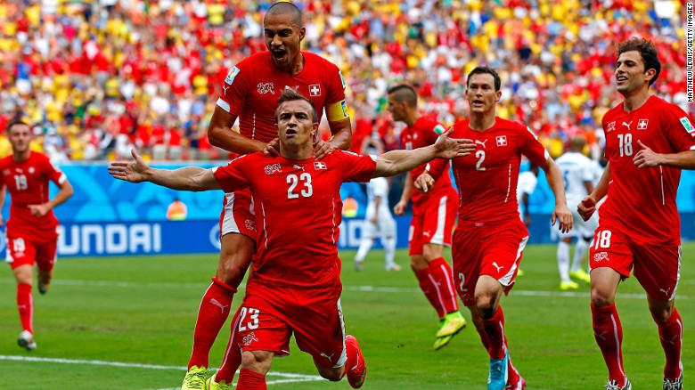 Xherdan Shaqiri committed to Switzerland
