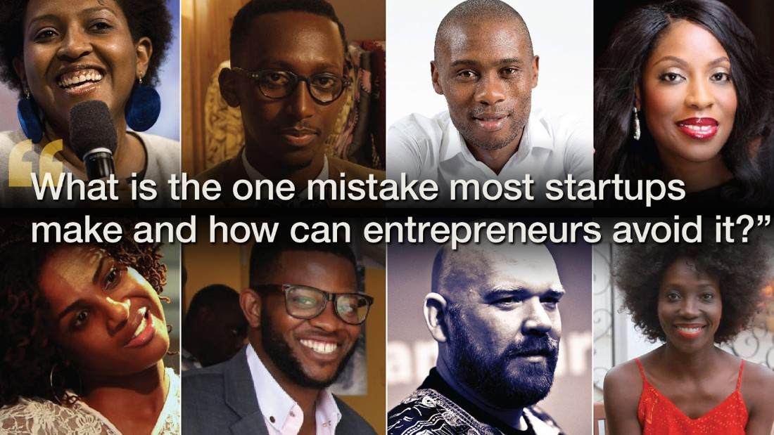 There will always be mistakes on the path to business success. But the trick is to dodge the small stuff and focus on the bigger picture. From Ory Okolloh and Erik Hersman to Mo Abudu and Adama Paris, CNN speaks to some of Africa's top entrepreneurs to find out their best words of wisdom to take with you as you kickstart your career. Scroll through the gallery and captions to read their inspirational words.