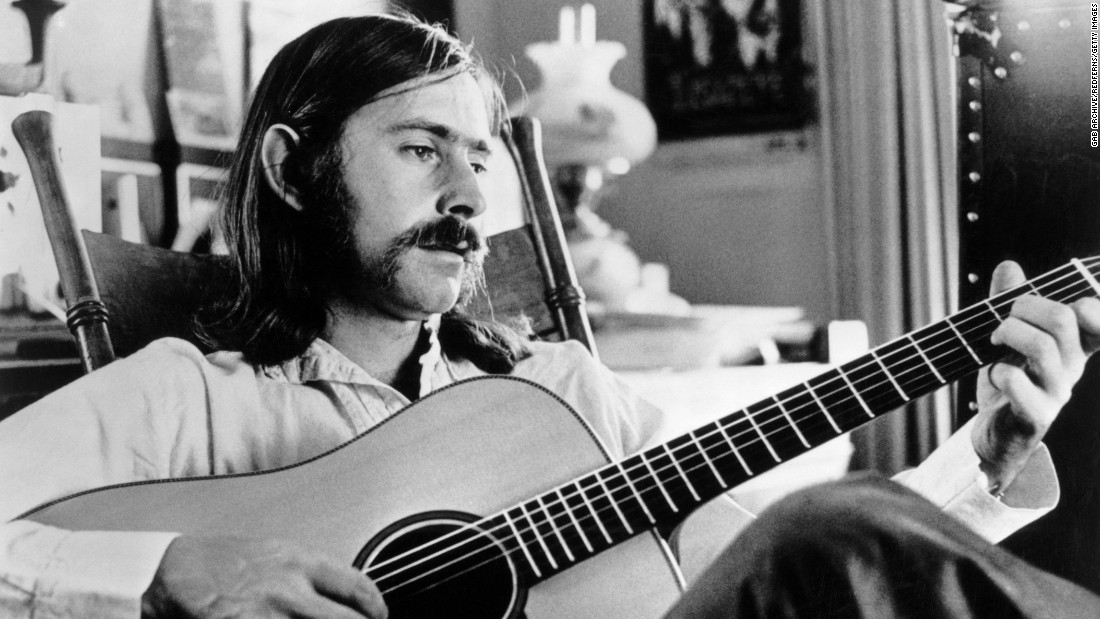 "Norman Greenbaum plays the guitar in this undated photo from 1969. The singer-songwriter, best known for his song ""Spirit in the Sky,"" is in critical condition after the car he was in was hit by a motorcycle on Saturday, March 28, the California Highway Patrol said."