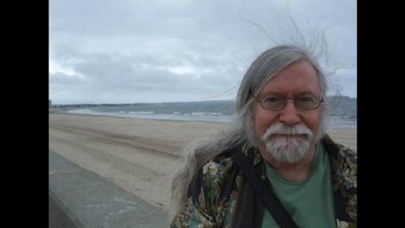 This photo is from Greenbaum's website, spiritinthesky.com. Greenbaum is now 72.