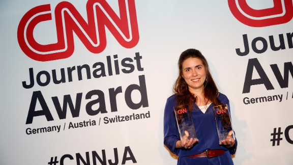 Stephanie Doetzer won the CNN Journalist of the Year Award 2015 for her compelling reports from Syria.