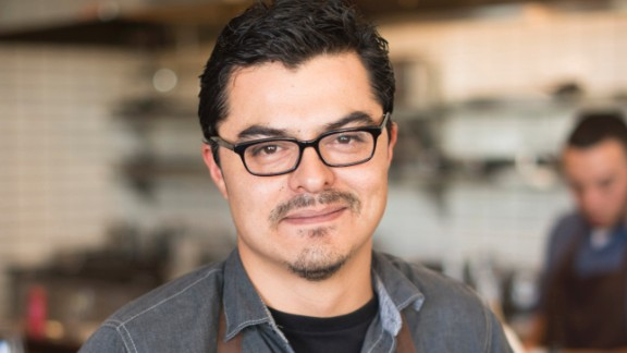 """After growing up in a restaurant family, chef Carlos Salgado worked for a decade in kitchens throughout the San Francisco Bay Area before opening Taco María in Costa Mesa, California. The restaurant, which is named for """"every mother, sister, tía and abuelita going back generations,"""" seeks out local produce and regionally sourced meats and seafood for its fresh Mexican fare. """"We call it 'Chicano Cuisine,' a mezcla of Mexican and American cultures, a conversation between our generation and the generations of humble cooks who nurtured the traditions of our home table,"""" says the restaurant's website. It's made the best restaurant lists of the Los Angeles Times, OC Register and OC Weekly."""