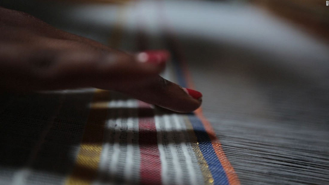 Ethiopia is renowned for for its intricately woven cotton fabrics.