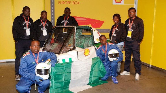 """The team behind Ecocruise also created the petrol-powered """"Tuke-Tuke"""" which competed at the Shell Eco-marathon Europe 2014 in Rotterdam."""